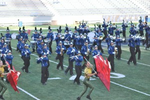 HIgh School Marching Bank